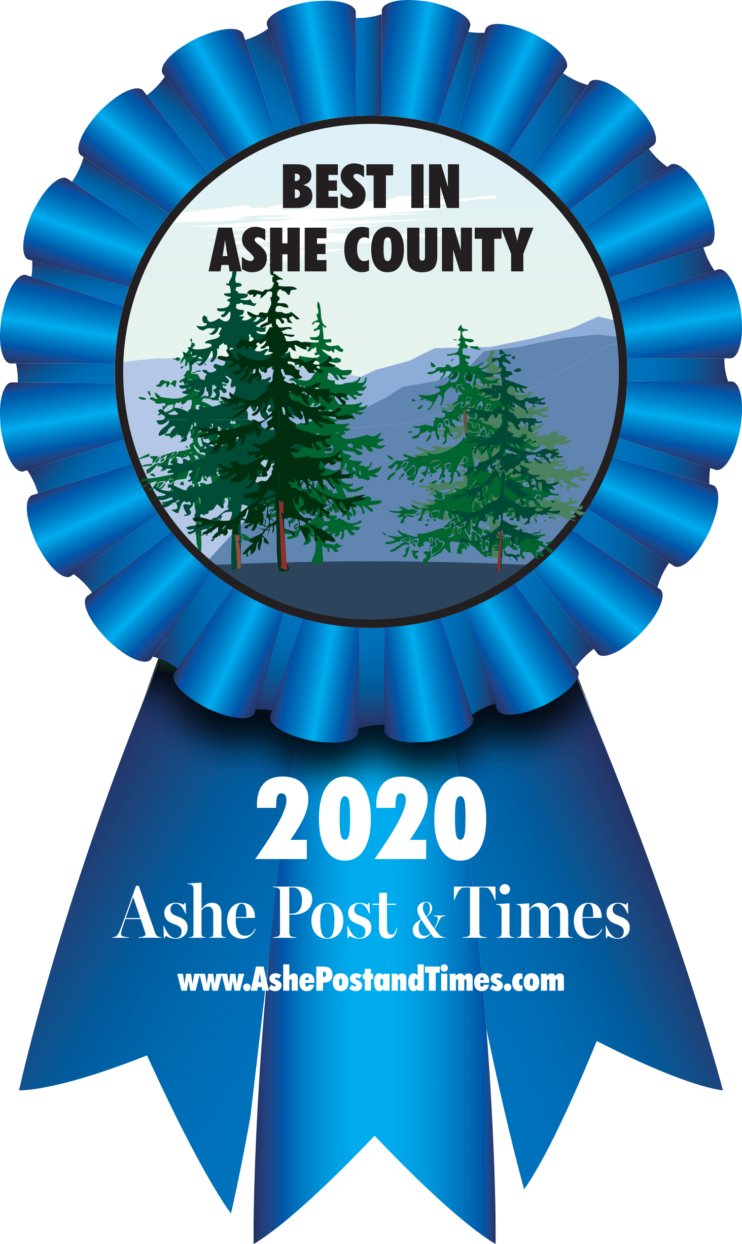 Voted 2019 Best Home Builder in Ashe Post & Times 'Best of Ashe' Awards
